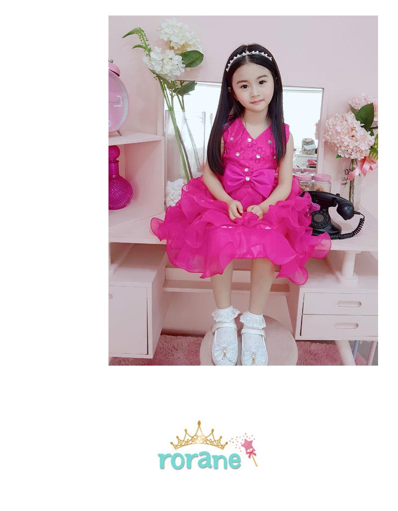 RORANE 샤인공주드레스 여아원피스 - 네모, 38,140원, 시즌/이벤트의류잡화, 파티의상